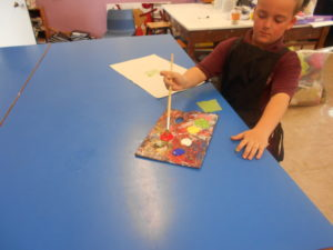 Monks Coppenhall Students Make Works Of Art During Primary